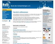 Bild Webseite Hamburger Schwerhörigen Sportverein (HSSV) von 1977 Hamburg