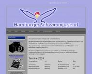 Bild Webseite Hamburger Schwimmverband Hamburg