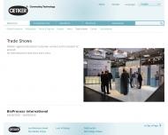Website Hans Oetiker Metallwaren- & Apparatefabrik