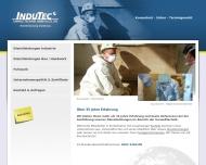 Bild Webseite Indutec Umwelttechnik Kerpen