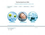 Bild Webseite Medizinisches Versorgungszentrum Nürnberg Nord Köln