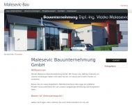 Bild Malesevic Bauunternehmung GmbH