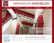 M?rkische Immobilien GmbH Potsdam ... immer eine gute Immobilie