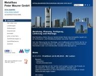 Bild Metallbau Peter Maurer GmbH