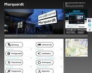 Bild Webseite Marquardt Vertriebs Hamburg