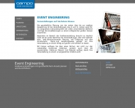 Bild Webseite campo - event engineering // Marten Pauls Beratung Hamburg