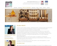 Website MASTO Dekorationen