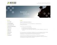 Bild Webseite NERISCO Köln