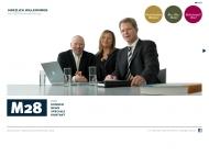 Bild Webseite M28 Markenwerbung Düsseldorf