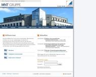 Bild Webseite MNT Rechtsanwaltsgesellschaft Frankfurt