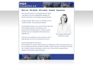 Bild Webseite M & R Immobilien München