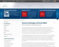 Website mr. net Verwaltung