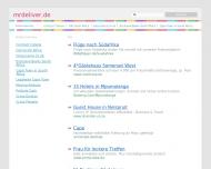 Bild Webseite Mr. Deliver Hamburg