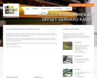 Bild Offset Gerhard Kaiser GmbH