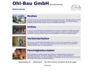 Bild Ohl - Bau GmbH