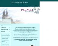 Bild Webseite PflegeMobil -Sabine Kratzat- Köln