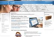 Bild Webseite NAFI@NET Aktiengesellschaft Höxter