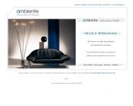 Willkommen bei ambiente - Uwe Harms GmbH - M?bel, Planungen, Wohnen, Objekte