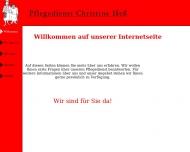 Bild Pflegedienst Christine Heß GmbH