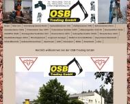 Bild Webseite OSB Trading Heinersdorf