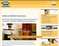 Bild OSNA & KRAUSE Getränke GmbH