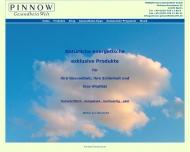 Bild Webseite Pinnow GesundheitsWelt Berlin