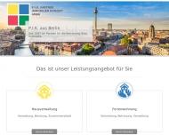 Bild Webseite PIK Partner Immobilien Konzept Berlin