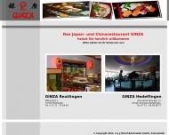 Bild Webseite Restaurant Ginza Stuttgart Stuttgart