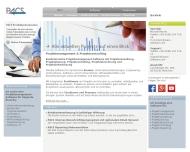 Bild Webseite PACS Software München