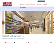 Bild Webseite Arcaden Apotheke Hamburg