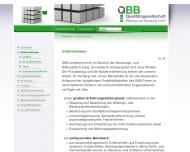 Website QBB Qualitätsgesellschaft Bildung und Beratung