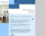 Bild Webseite BODESTA Köln