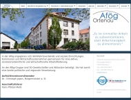 Bild Arbeitsfördergesellschaft Ortenau gemeinnützige GmbH