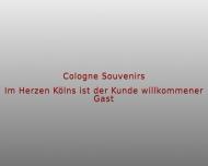 Bild Webseite Cologne Souvenirs DV Inhaber Dieter Veithen Köln