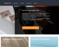 Bild Webseite commsult- Aktiengesellschaft Potsdam