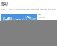 Bild Webseite knerer und lang Architekten Dresden