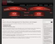 Bild Webseite Paradigma Software Berlin