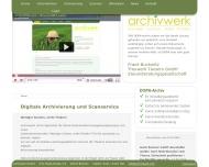 Digitale Archivierung von Daten Digitale Archivierung und Scanservice