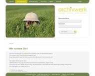 Website archivwerk