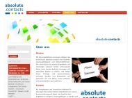 Website absolute.contacts