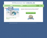Bild Webseite vidento communications UG Koblenz