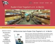 Bild Webseite Ruder-Club Tegelort Berlin
