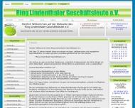 Bild Webseite Ring Lindenthaler Geschäftsleute Köln