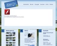 Bild Webseite  Zehdenick