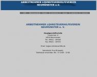 Bild Arbeitnehmer Lohnsteuerhilfe- Verein Neumünster e.V.