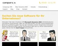 Bild Webseite Comporsys Hansa Wedel