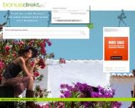 Bild Webseite Comm.FACT München