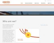 Bild Webseite Ascio Technologies München