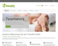Bild Webseite TransPal Wagner & Ravenel Berlin