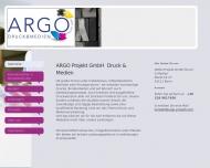 Bild Argo Projekt GmbH Druck&Medien